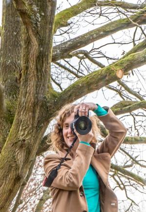 persoon met fototoestel